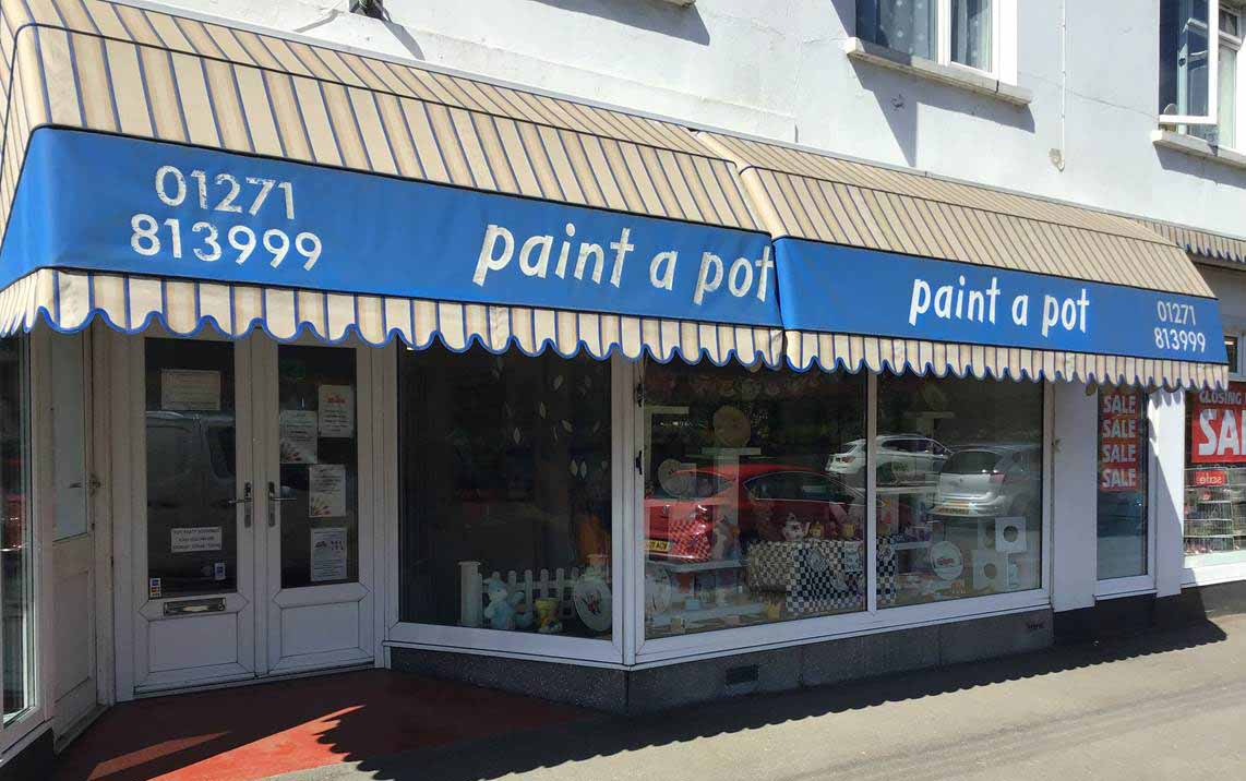 Paint a Pot shop front photo